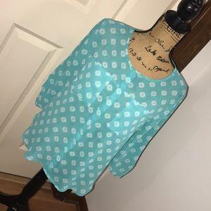Filigree design blouse